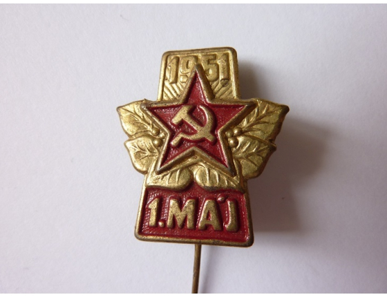 Československo - odznak 1. máj 1951