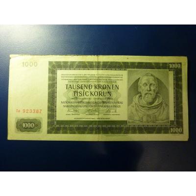 1000 korun 1942 Ia