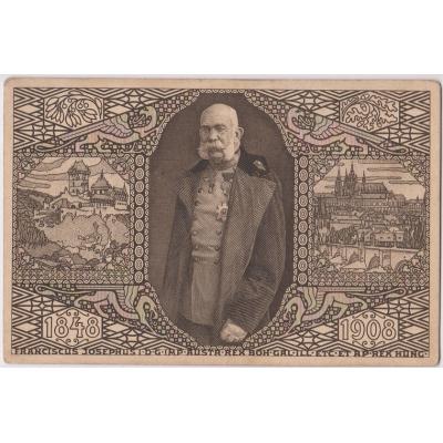 Postkarte: Österreich-Ungarn - Jubiläumsausstellung im Jahre 1908