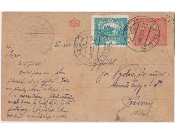 Hasičská župa Mělnická 1920