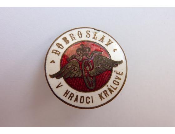 Československo - odznak Spolek Dobroslav v Hradci Králové