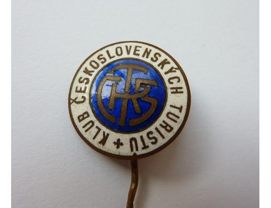 Československo - odznak Československý klub turistů