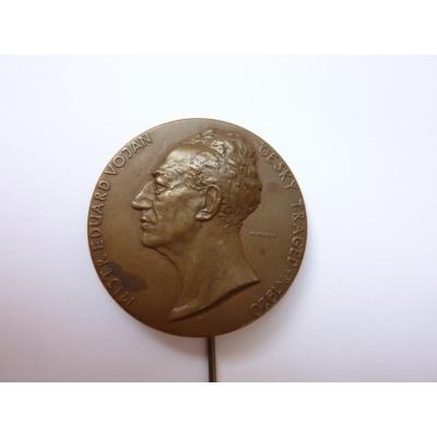 Tschechoslowakei -Mistr Eduard Vojan - Tschechische Tragiker, 1921 Todesfälle Abzeichen