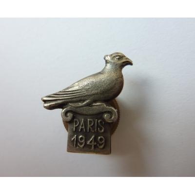 France - odznak šroubovací Paris 1949