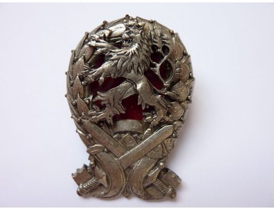 Česká republika - odznak Absolvent vojenské Akademie