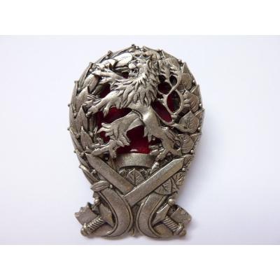 Tschechische Republik - Abzeichen Militärakademie Absolvent