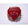 Československo - odznak Vzorný kolektiv Sboru národní bezpečnosti