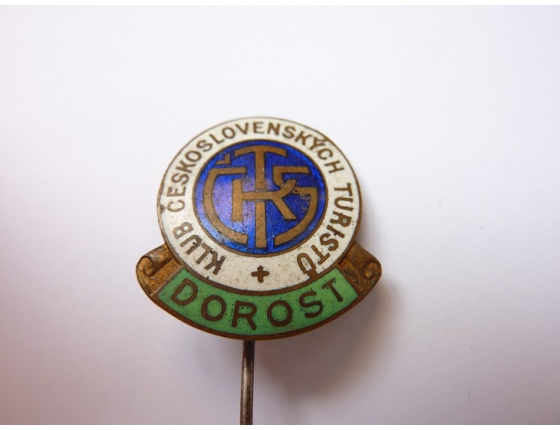 Československo - odznak Klub československých turistů dorost