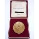 Československo - 50. výročí vzniku ČSR, medaile s věnováním Národní fronty