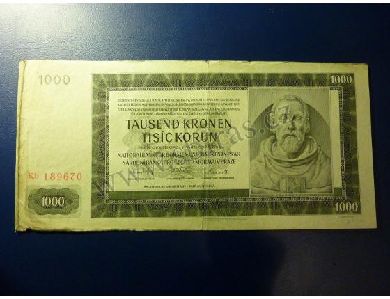 1000 Kronen 1942