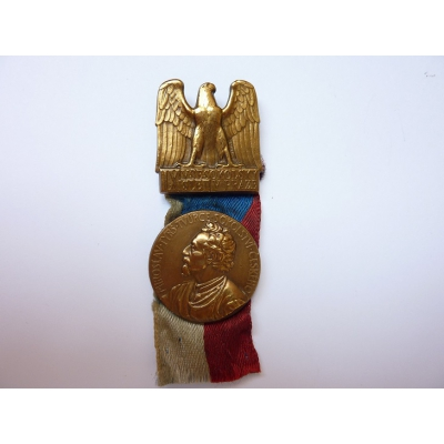 Czechoslovakia - IX.Sokol Gathering in Prague badge 1932