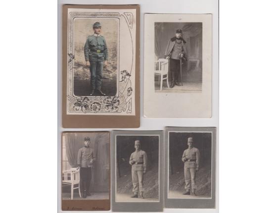 5x vojenská fotografie, Člen Dragounského pluku č.8
