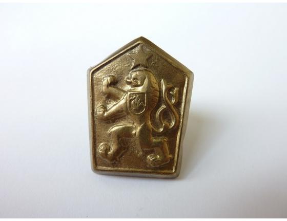 Československo - vojenský čepicový odznak