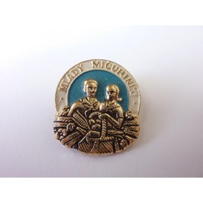 Československo - odznak Mladý mičurinec