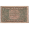 Polsko - bankovka 5 marek 1919