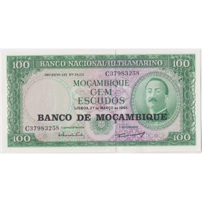 Mozambique - 100 escudos 1961