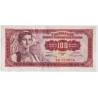Jugoslávie - bankovka 100 dinárů 1955