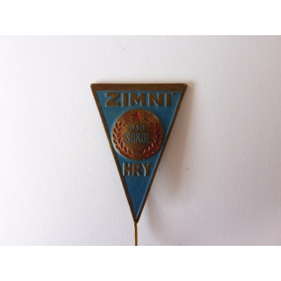 Czechoslovakia - Sokol winter games badge