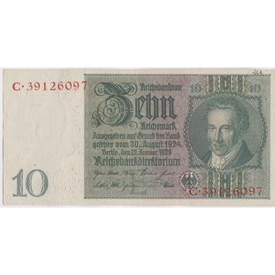 Germany - banknote 10 Mark 1929