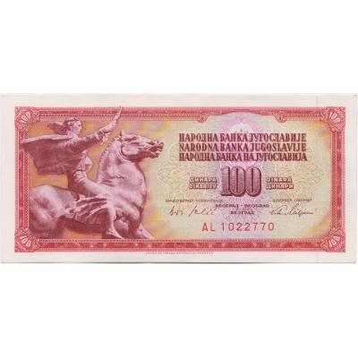 Yugoslavia - 100 dinars 1965