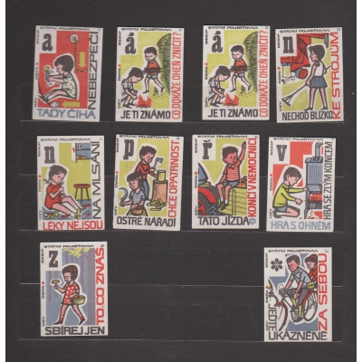 Czechoslovakia - Match stickers Solo Sušice