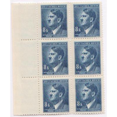 Böhmen und Mähren - Adolf Hitler, Block Briefmarken