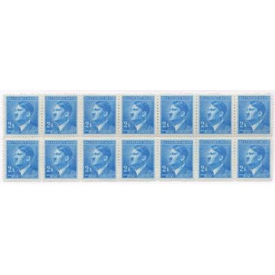 Bohemia and Moravia - Adolf Hitler, stamps block