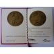 Československo - 35. výročí Výzkumného ústavu materiálu, medaile s věnováním 1984