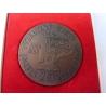 Československo - 20. výročí Výzkumného ústavu materiálu, medaile s věnováním 1969