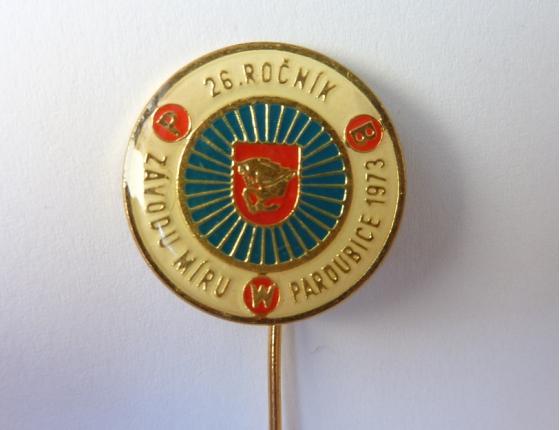 Závod míru Pardubice, 1973, 26.ročník