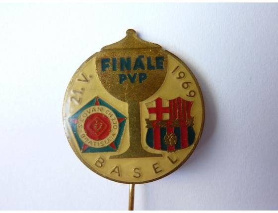Finále PVP Slovan Baratislava 1969