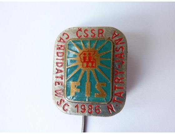 ČSSR FIS Candidate WSC Nízké Tatry - Jasná 1986