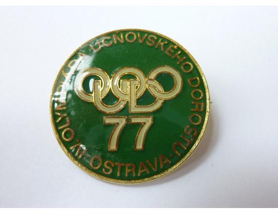 IV. Olympiáda učňovského dorostu Ostrava 1977