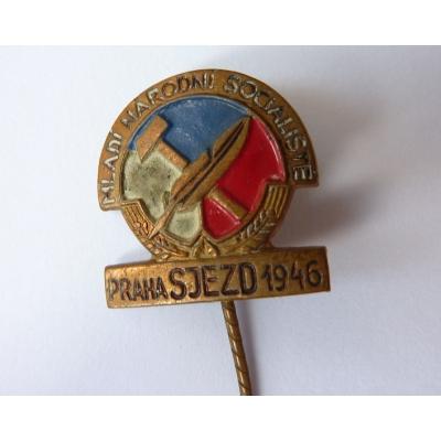Mladí Národní socialisté - Praha sjezd 1946