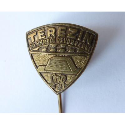 Terezín - 20. výročí sovobození