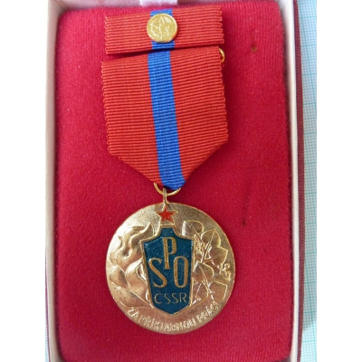 SPO - Fire Protection Association, für vorbildliche Arbeit