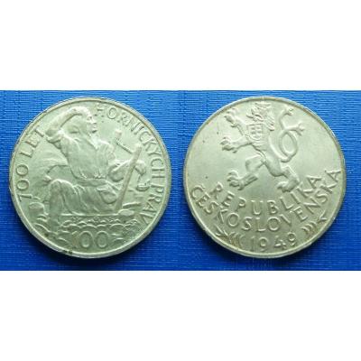 100 Kronen 1949