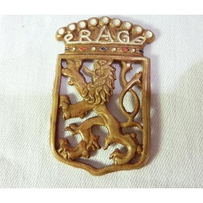 Automobilový odznak PRAGA