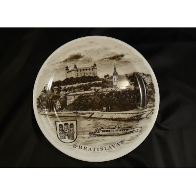 Dekorační talíř Bratislava