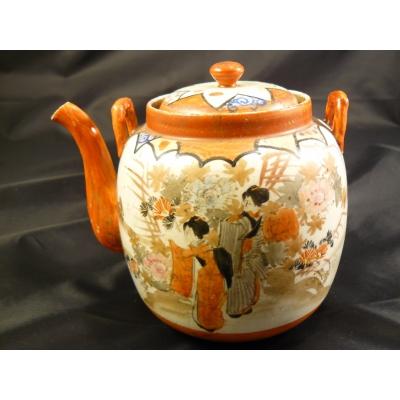 Japonská čajová konvice z 19. století