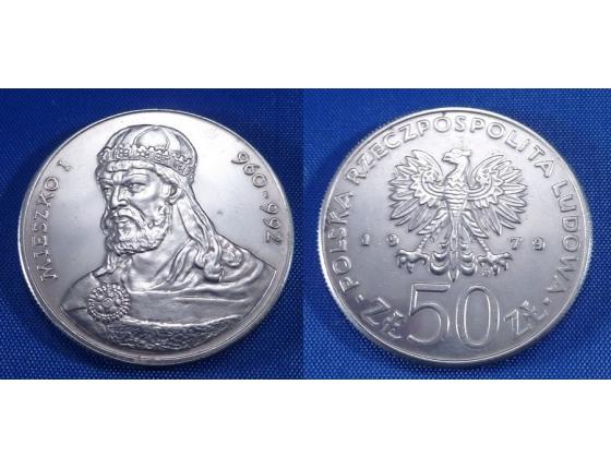 50 zlotych 1979 - Mieszko I