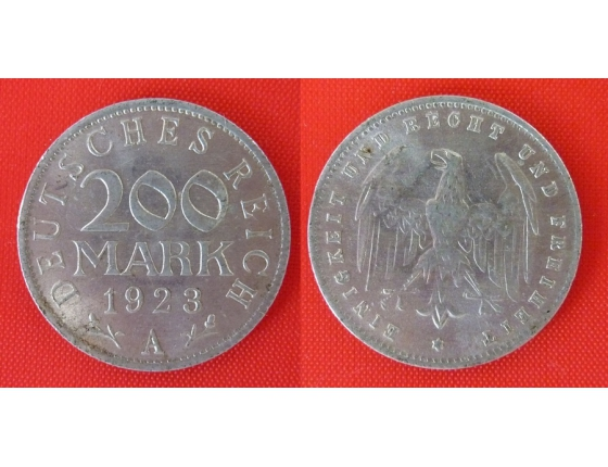 200 marek 1923 A