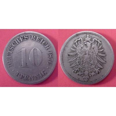 Deutschland - 10 Pfennig 1876