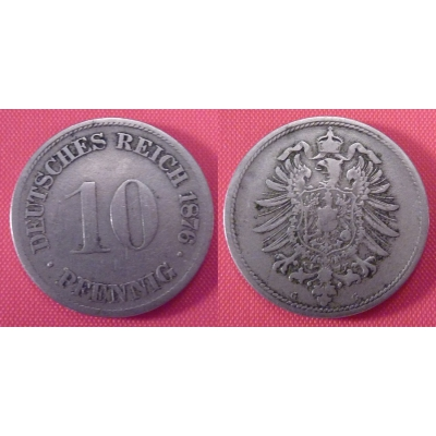 Germany - 10 pfennig 1876