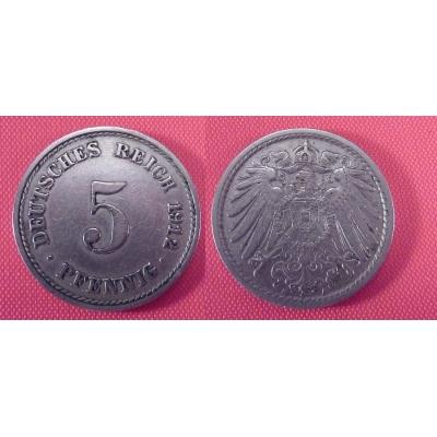 5 Pfennig 1912