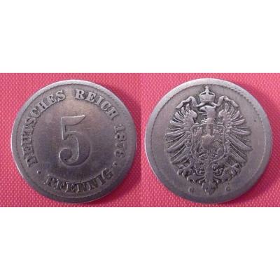 5 Pfennig 1876