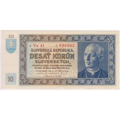 10 korun 1939