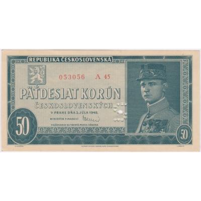 50 Kronen 1948