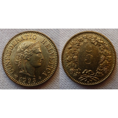 Switzerland - 5 centimes 1993