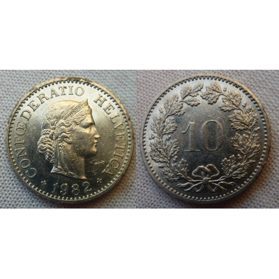 Switzerland - 10 centimes 1982